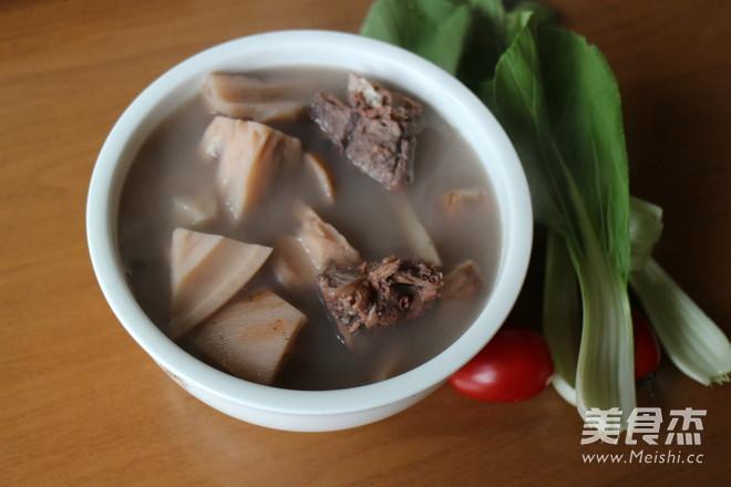 粤菜炖藕汤的粉丝【做法图】_排骨_美食杰菜谱步骤图片