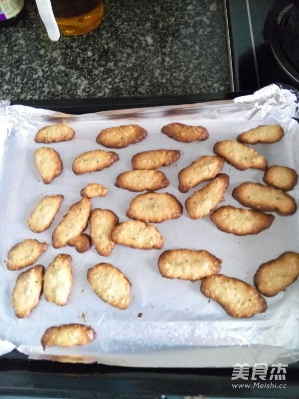 麦片核桃饼干的做法_家常麦片核桃饼干的做法【图】