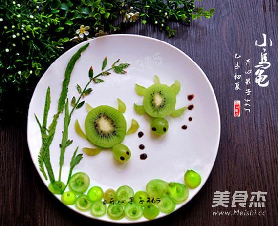小做法做法摆盘的乌龟_乌龟小家常水果摆盘的家常菜水果煎鱼谱大全
