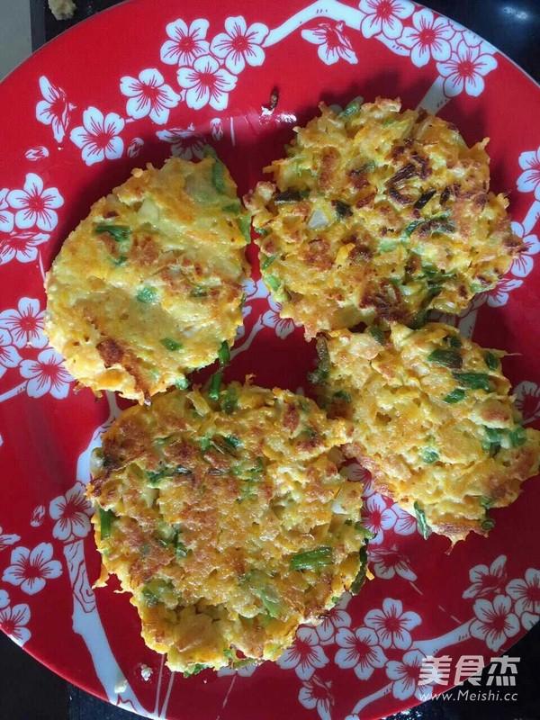 家常蔬菜雞蛋餅的做法【圖】蔬菜雞蛋餅的家常做法大全