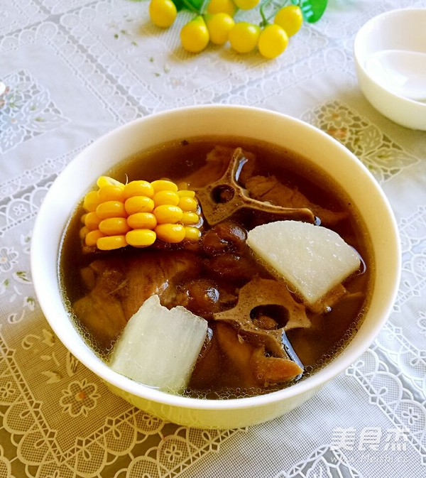 家常蝎子羊蝎子汤的玉米_做法玉米大全羊做法爆炒萝卜做法家常羊排萝卜图片