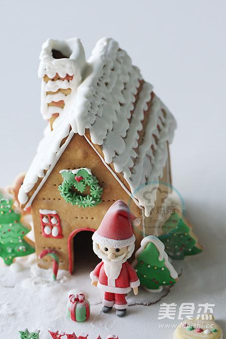 蛋壳制作圣诞老人