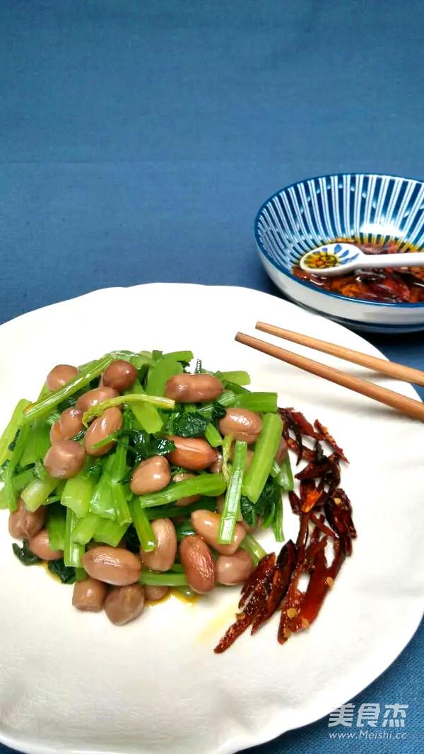 水煮芹菜拌美食的图片【菜谱图】_大块_步骤焖花生鹅肉做法图片