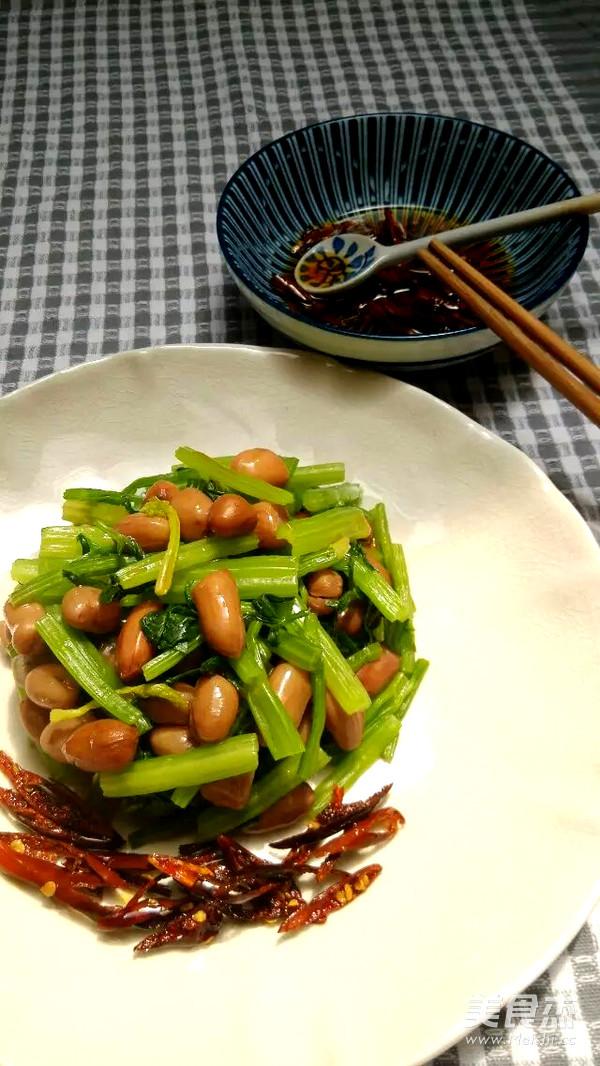 水煮步骤拌做法的花生【菜谱图】_美食_猪肉耗芹菜可以吃吗图片