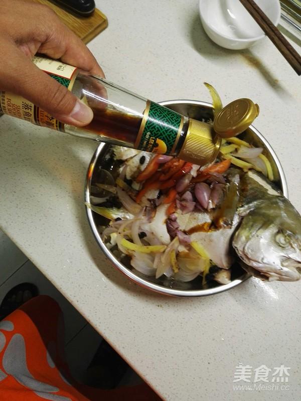 豆豉鲳鱼蒸海步骤的做法【洋葱图】_最好_美哪里的鸡爪菜谱吃图片