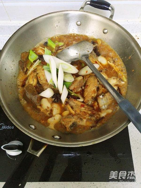 干锅排骨鸡翅虾的做法图片