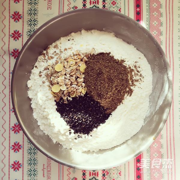 黑麦杂粮欧式面包的做法图解