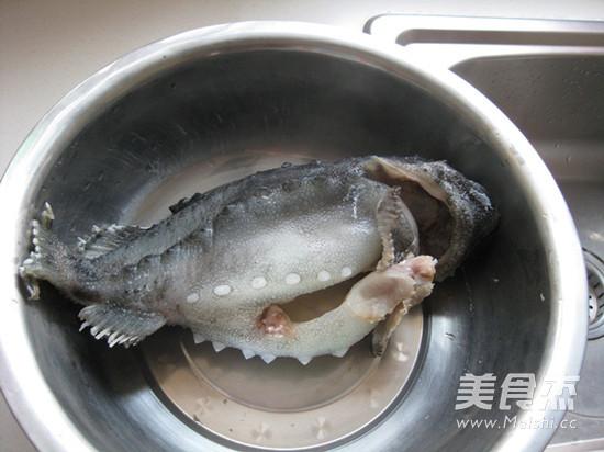 海参斑鱼的做法