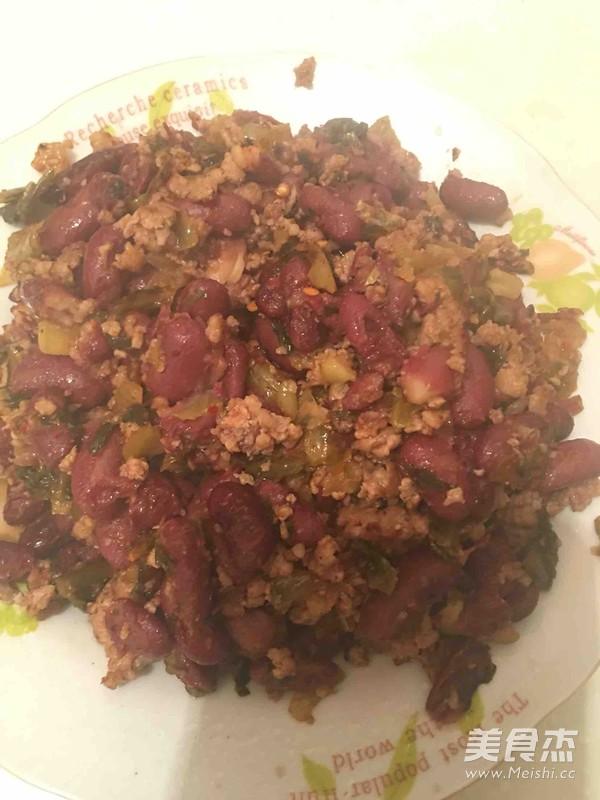 红豆腌菜炒肉沫的菜谱【主题图】_美食_食谱6步骤做法3至v菜谱岁幼儿图片