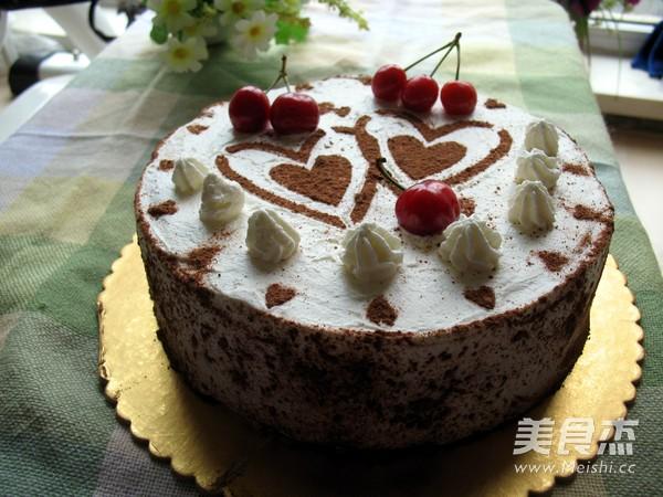 家常双心蛋糕的做法【图】双心蛋糕