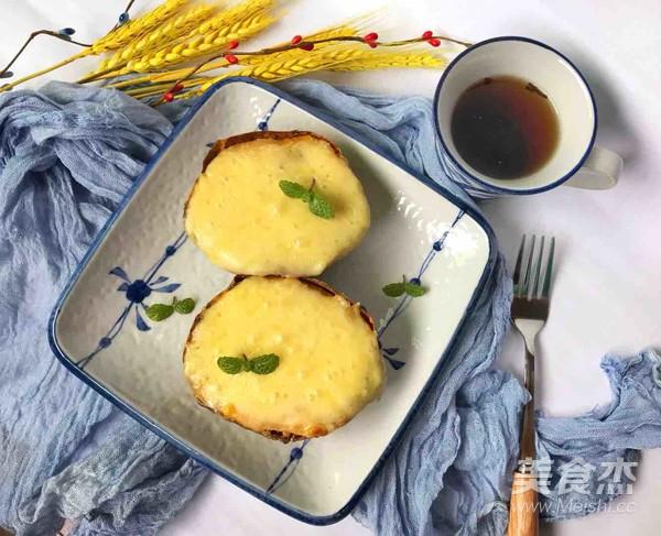 #芝士烤红薯#