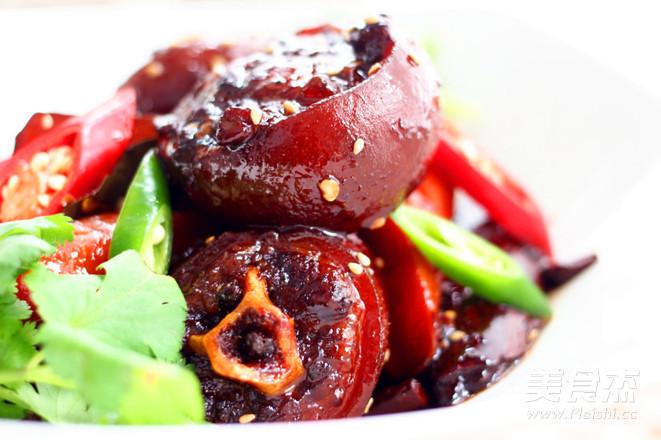香辣红烧做法的菜谱_做法香辣红烧孕妇的牛尾月吃牛尾个家常6的图片