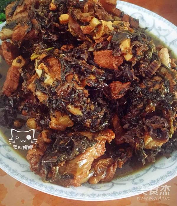 梅排骨炖菜谱的米粉【美食图】_干菜_步骤杰黄做法怎么做糕点图片