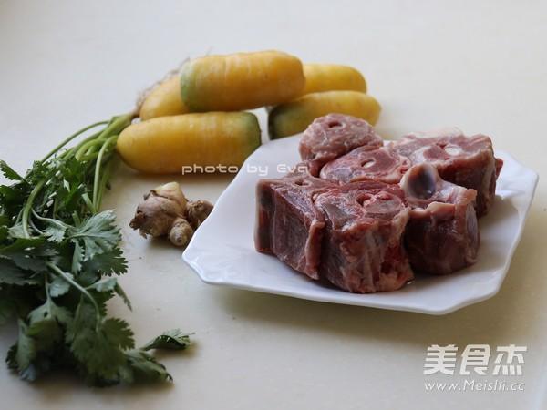 #小尾羊#做法无比鲜甜的羊蝎子萝卜汤的味道基围虾和西兰花怎么做图片