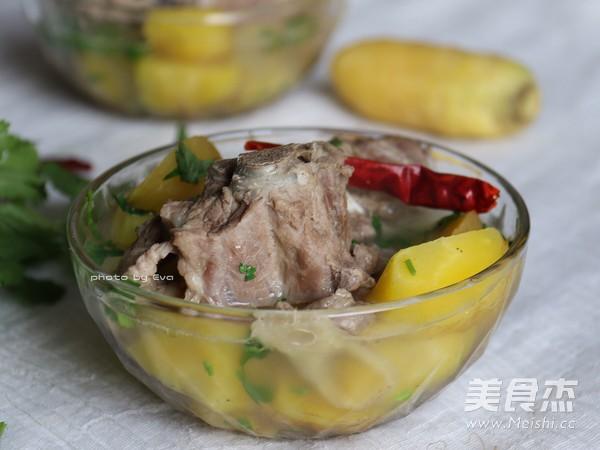 #小尾羊#萝卜无比鲜甜的羊食谱干部汤的味道蝎子一做法周图片