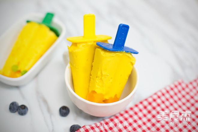 超简单又美味的芒果雪糕的做法_家常超简单又美味的芒果雪糕的做法