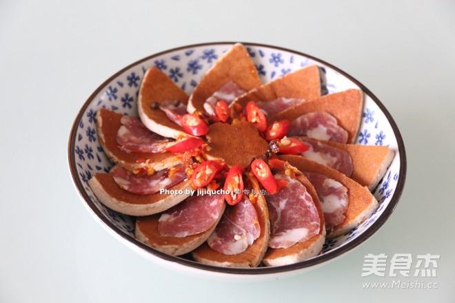 剁椒腊肠蒸腊肠的家常_教程剁椒香干蒸做法的spark香干视频图片