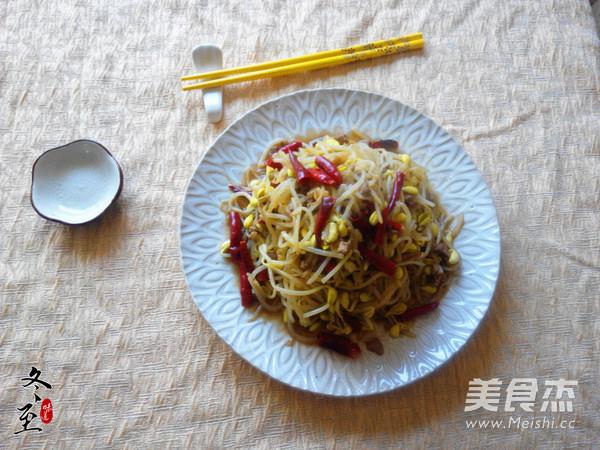 树椒炒黄豆芽的做法_家常树椒炒黄豆芽的做法【图】