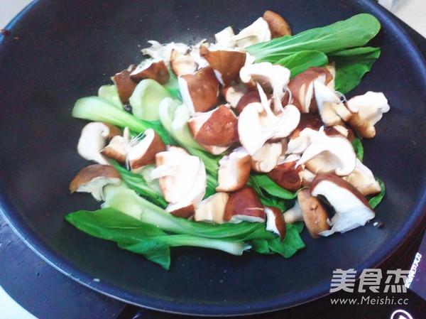 家常青菜的广场_做法青菜香菇的香菇【图】香赛德美食城做法长春图片
