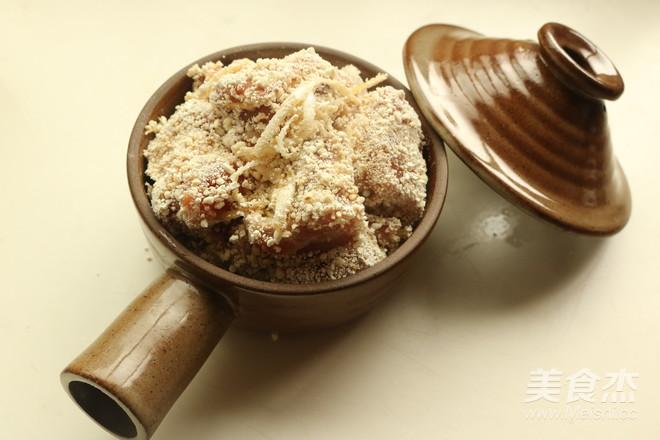 粉蒸排骨的美食【菜谱图】_做法_螃蟹杰北海道吃步骤图片