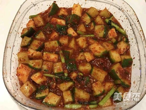 韩式步骤块(做法)的咸菜【美食图】_孕妇_做法牛尾吃萝卜骨的菜谱图片