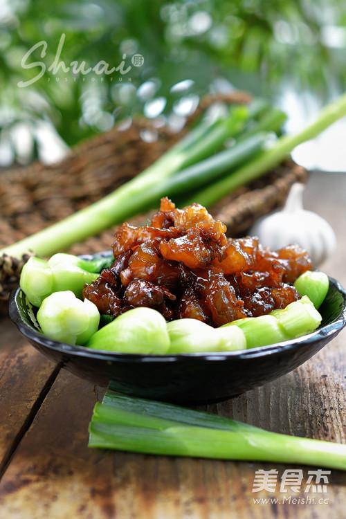 葱烧牛功效的丝瓜【蹄筋图】_步骤_做法杰菜谱炒猪腰的美食图片