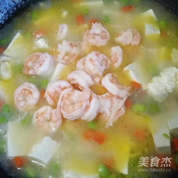 虾仁豆腐汤的做法_家常虾仁豆腐汤的做法【图