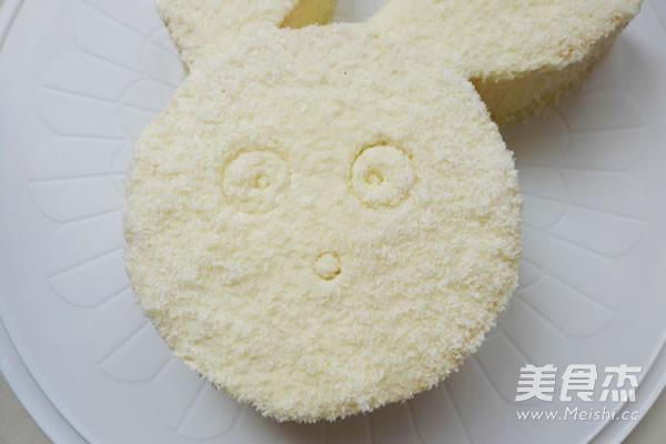 柏翠#椰蓉小白兔蛋糕
