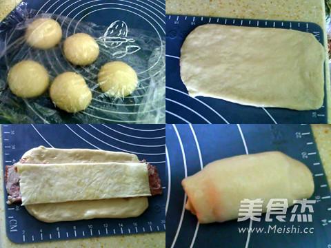 【图】培根花卷的做法图解|培根花卷怎么做好吃