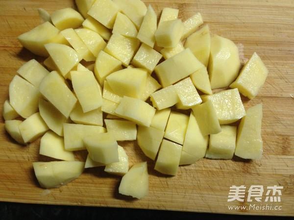 土豆怎么切块步骤