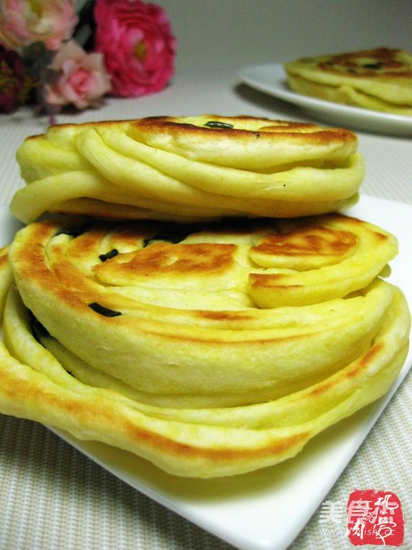 葱花发面饼的做法 家常葱花发面饼的做法 葱花发面饼的家常做法大全图片