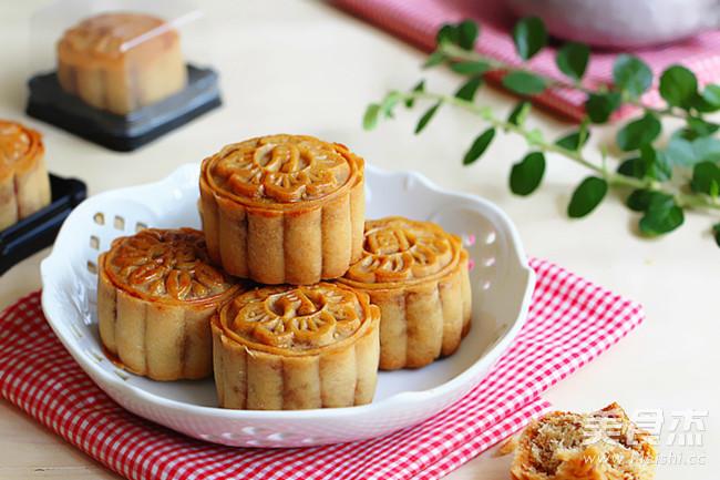 广式金丝肉松月饼的做法_家常广式金丝肉松月饼的做法【图】