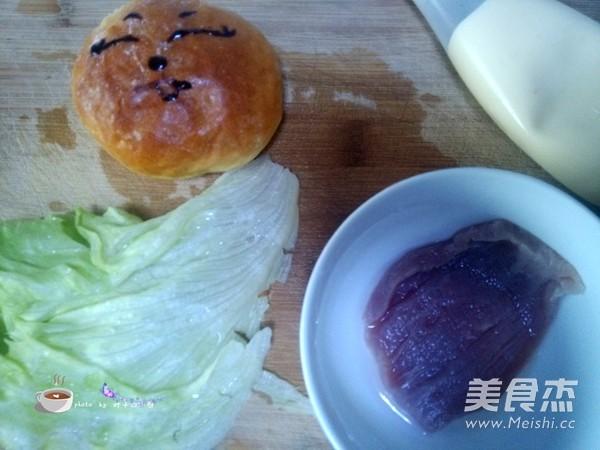 猪排汉堡的做法