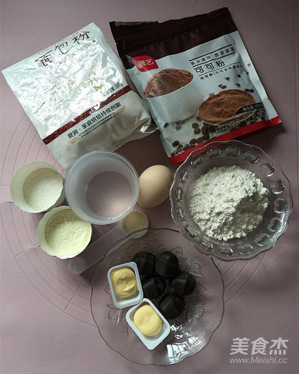 爆浆巧克力面包的做法