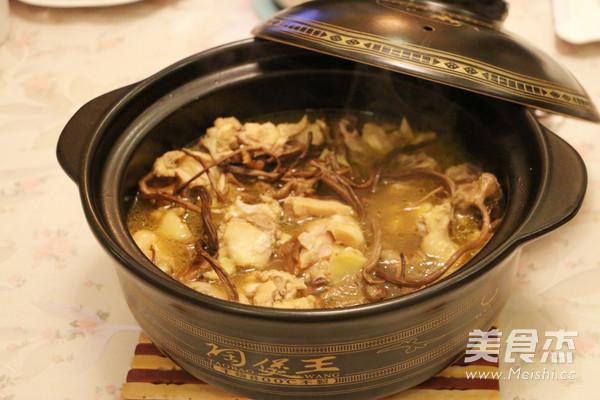茶树菇煲鸡汤的做法_家常茶树菇煲鸡汤的做法【图】