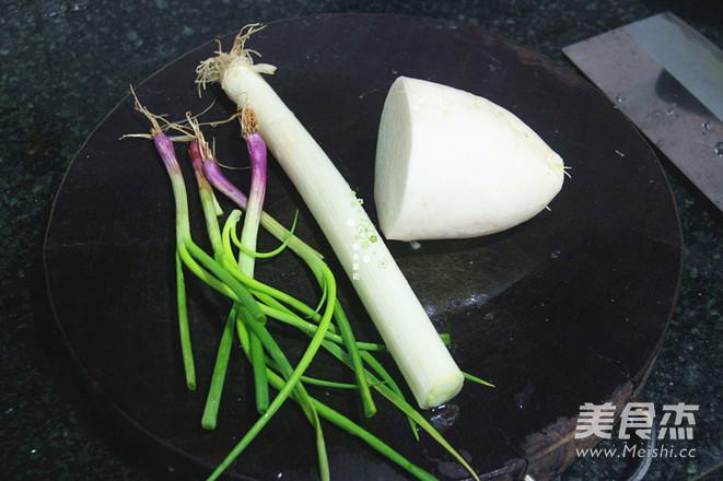 白萝卜清炖羊做法(高压锅版)的家常_米粉白萝蒸蝎子锅图片