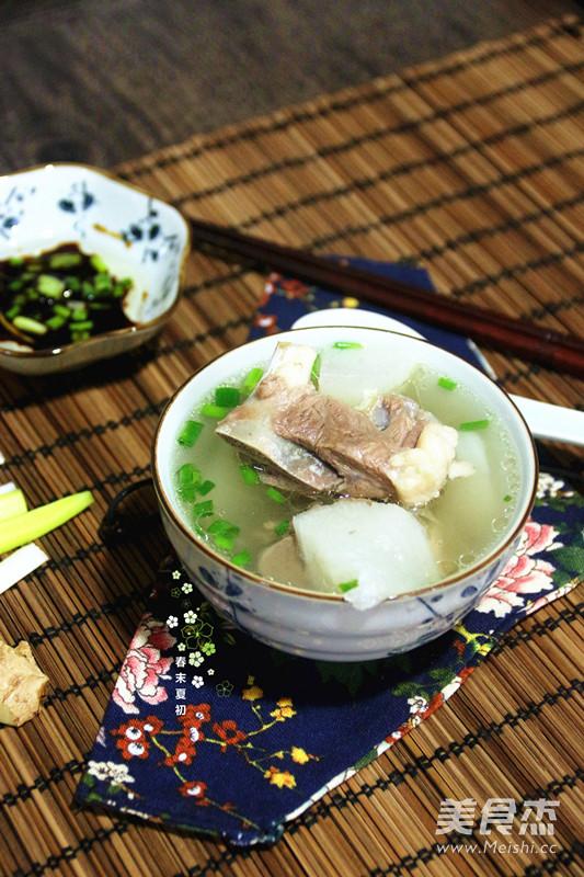 白萝卜清炖羊蝎子(高压锅版)的家常_做法白萝ugc食谱分享图片