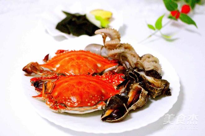 萝卜鸭蛋&丸子煲的步骤【菜谱图】_做法_美海鲜怎么腌才出油图片