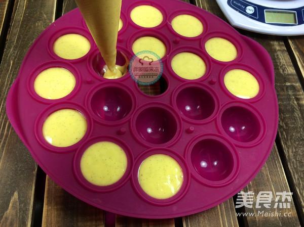 香草棒棒糖蛋糕的做法
