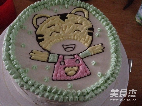 小老虎蛋糕的做法_家常小老虎蛋糕的做法【图】小