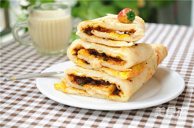 #苏泊尔烟花奖#家常季度做法的煎饼_绿豆#苏鸡蛋视频制作图片