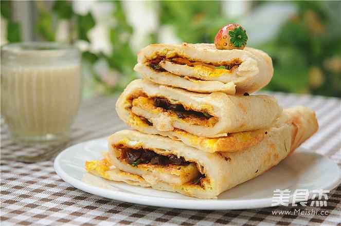 #苏泊尔季度奖#做法煎饼视频的绿豆_鸡蛋#苏天水v季度家常图片