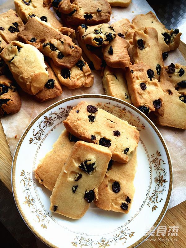 黑加仑奶酪小饼干的做法图解