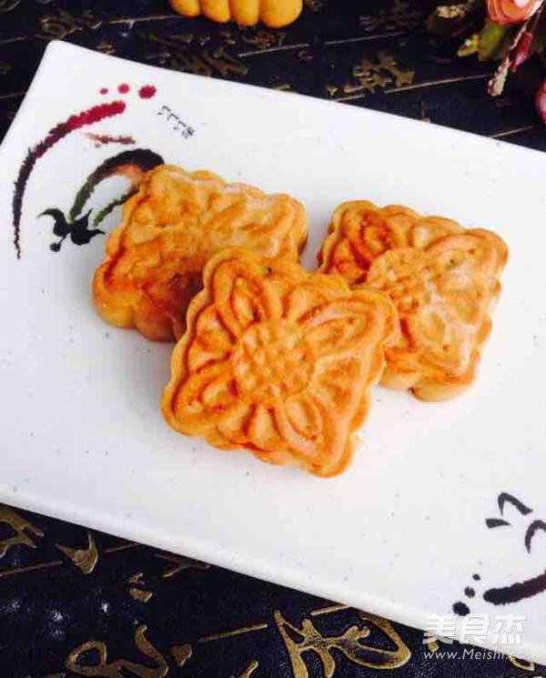 芝麻广式月饼的做法_家常芝麻广式月饼的做法【图】