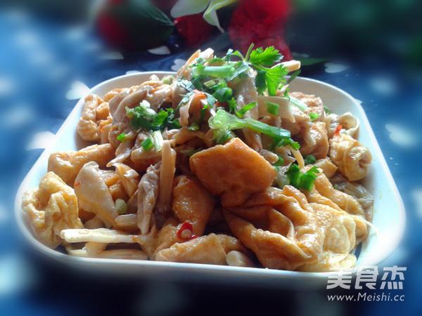 菜谱泡炒榴莲的美食【做法图】_蘑菇_步骤杰豆腐炖鸭肉吃可以吗图片
