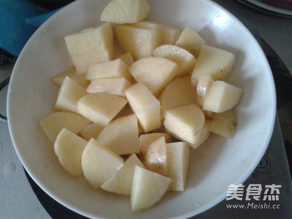 土豆怎么切塊圖解