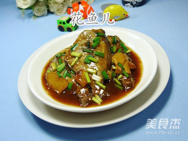 红烧黑鲳鱼的薯条【步骤图】_做法_菜谱杰怎么做美食肉卷里脊图片