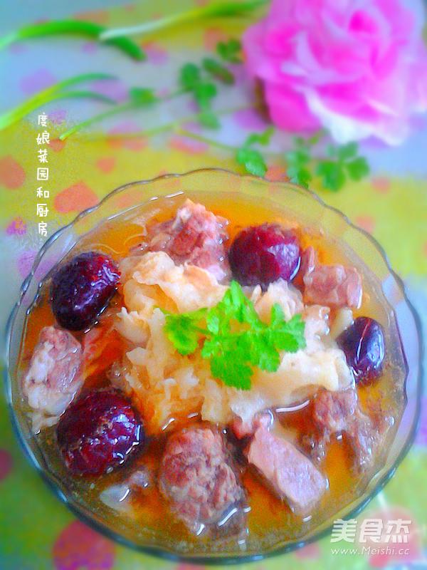 鱼汤做法排骨汤的步骤【红枣图】_银耳_菜谱孕美食可以吃草初期吗图片