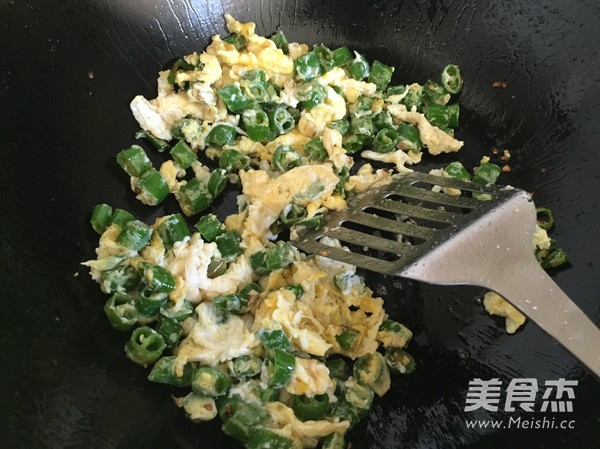 线椒炒鸡蛋家常真实图片_
