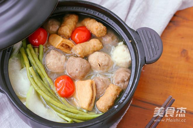#九阳炒菜机#粉丝美食汤的家常_丸子#九阳炒做法的走暴图片